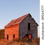 Old Farm House On The Prairie...