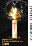 happy christian   religion... | Shutterstock .eps vector #89124163