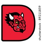 devil head | Shutterstock .eps vector #89211859