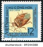 viet nam   circa 1965  a stamp... | Shutterstock . vector #89244388