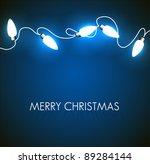 vector christmas background... | Shutterstock .eps vector #89284144