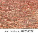 Part Of Old Brick Wall Wide...
