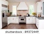 gourmet kitchen in a home | Shutterstock . vector #89372449