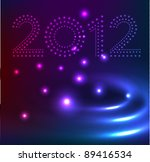 new year design background  ... | Shutterstock .eps vector #89416534