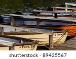 Recreational Rowing Boats...