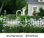 Beautiful Garden Setting With...