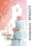 wedding invitation. | Shutterstock .eps vector #89465275