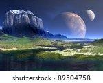 Neomas Moons  Alien Landscape...