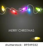vector christmas background... | Shutterstock .eps vector #89549332