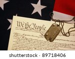 freedom is not free | Shutterstock . vector #89718406