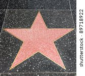 los angeles   may 18  star on... | Shutterstock . vector #89718922