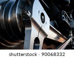 a close up of the drive... | Shutterstock . vector #90068332