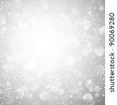 Silver Snowflake Christmas...