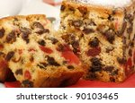 Delicious Sliced Fruit Cake...