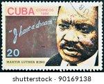 cuba   circa 1986  a stamp... | Shutterstock . vector #90169138