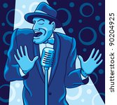 blue crooner | Shutterstock . vector #90204925