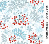 Winter Seamless White Pattern...