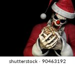 Santa Zombie   Brains.  A Scar...