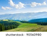 Summer Mountain Plateau...