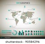 detail infographic | Shutterstock . vector #90584296