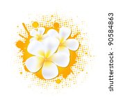 flower background with... | Shutterstock .eps vector #90584863