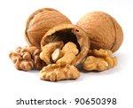 Walnut And A Cracked Walnut...