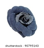 Fabric Boutonniere Wrapped In...
