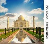 taj mahal in india | Shutterstock . vector #90906722