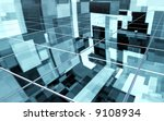 abstract surface with... | Shutterstock . vector #9108934