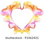 background with bright abstract ... | Shutterstock .eps vector #91462421