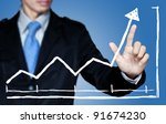 business to grow in the active... | Shutterstock . vector #91674230
