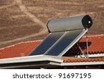 Water Heating Solar Panels On...