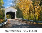 The Pengra Covered Bridge With...