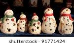 Snowman Ornaments At...