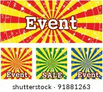 sample for discount store with... | Shutterstock .eps vector #91881263