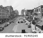Cityscape Of E. 86th Street In...