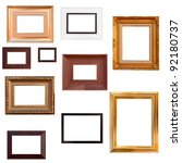 Photo frame sets - stock photo
