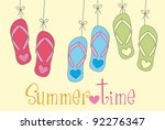 Flip Flops With Summer Time...