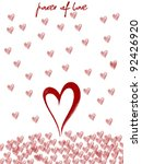 valentine's day and valentine... | Shutterstock . vector #92426920