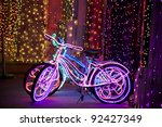 Glowing Psychedelic Bikes With...