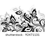 floral background with... | Shutterstock .eps vector #92471131