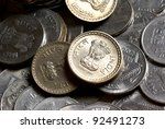 group of indian rupee coins | Shutterstock . vector #92491273