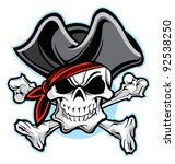 pirate | Shutterstock .eps vector #92538250