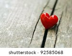 Stock photo valentines day background with hearts 92585068