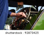 Steam Traction Engine Driver