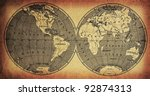 old map | Shutterstock . vector #92874313
