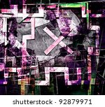 abstract  collage | Shutterstock . vector #92879971