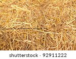 golden straw texture ...