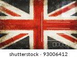 England Flag On Old Postcard ...