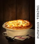 Game Pie In Serving Dish On...